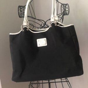 Black and White Rowallan Bag